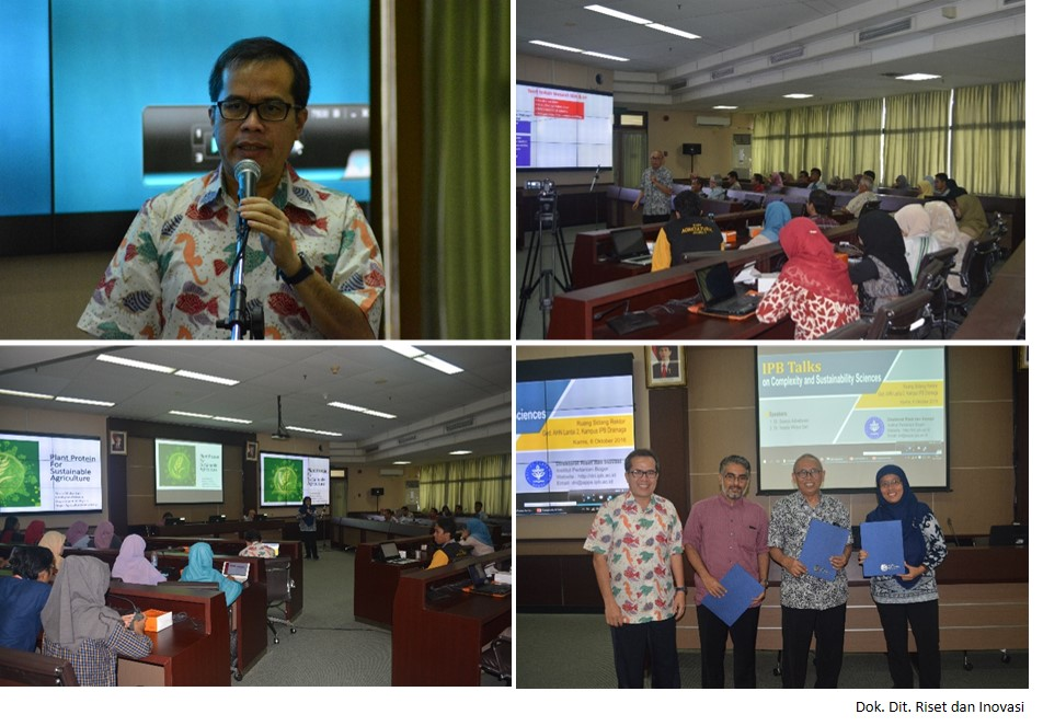 IPB Talks on Complexity and Sustainability Science