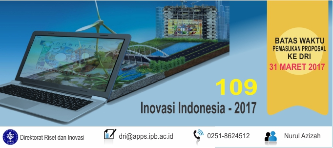 Program 109 Inovasi Indonesia – 2017