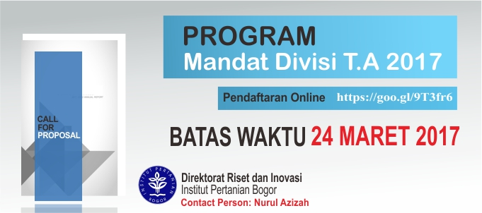 Program Mandat Divisi 2017